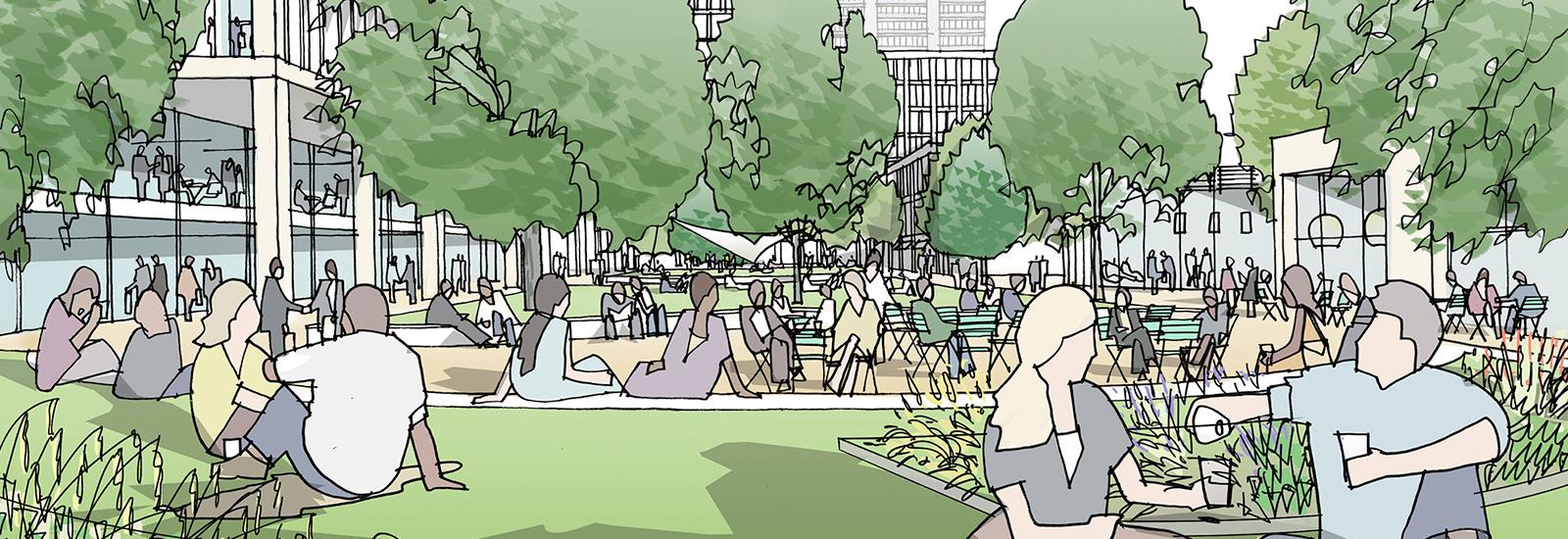 New Garden Square